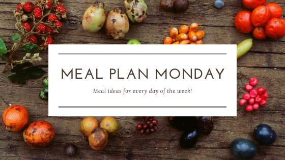 Meal Plan Monday, May 20